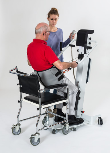 ELEA sit-to-stand aid provides motorised support